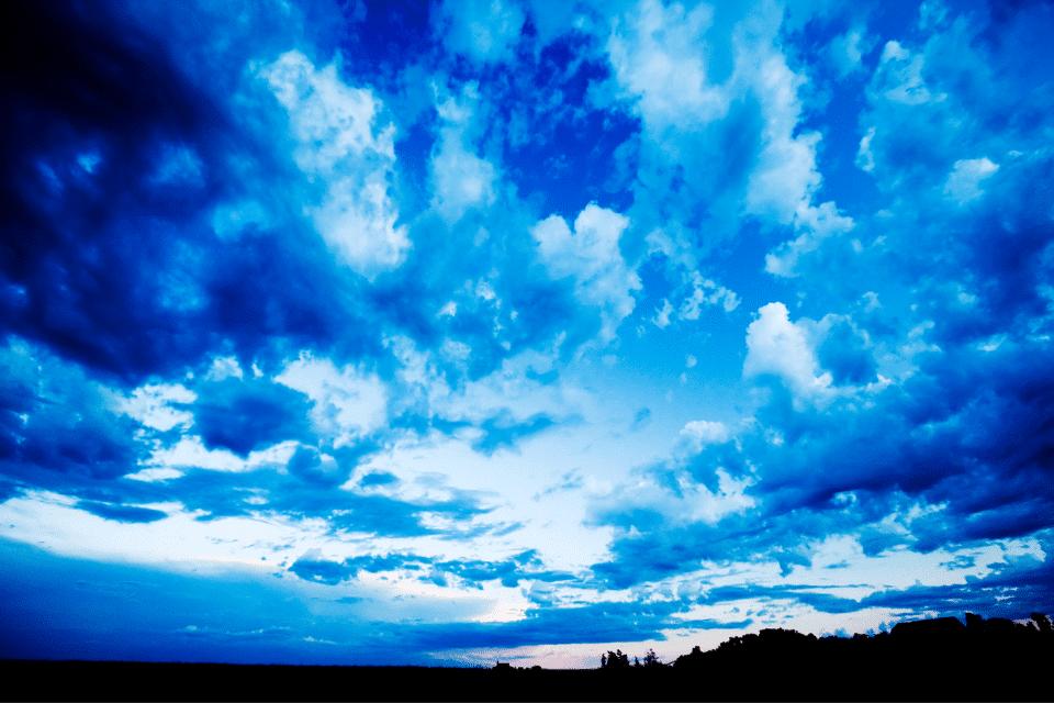 Blue Cloud of Archangel Michael